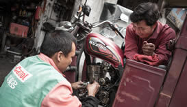 Manutenção e Venda de Motocicletas